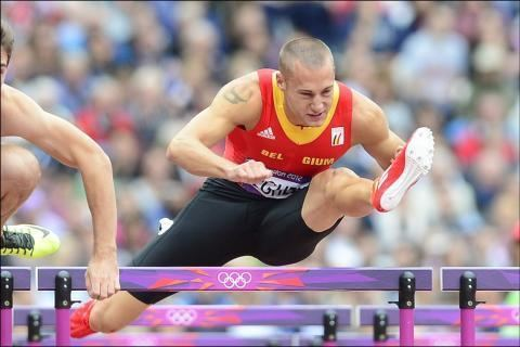 Adrien Deghelt JO Adrien Deghelt en demi finale et Record de Belgique
