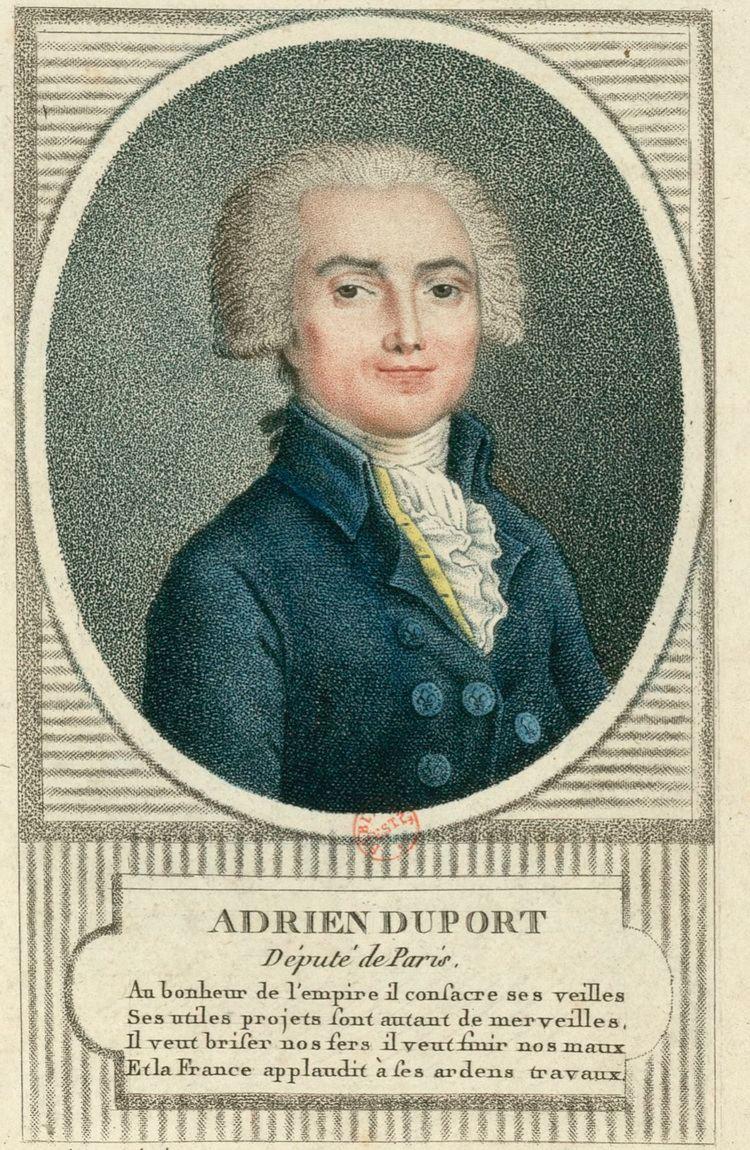 Adrien Duport Adrien Duport Wikipedia