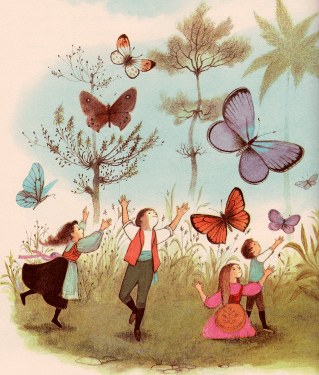 Adrienne Adams my vintage book collection in blog form Thumbelina