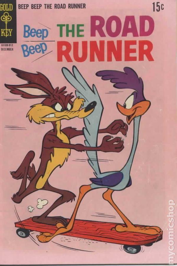 Adventures of the Road Runner Beep Beep the Road Runner 1966 Gold Key comic books 19561969