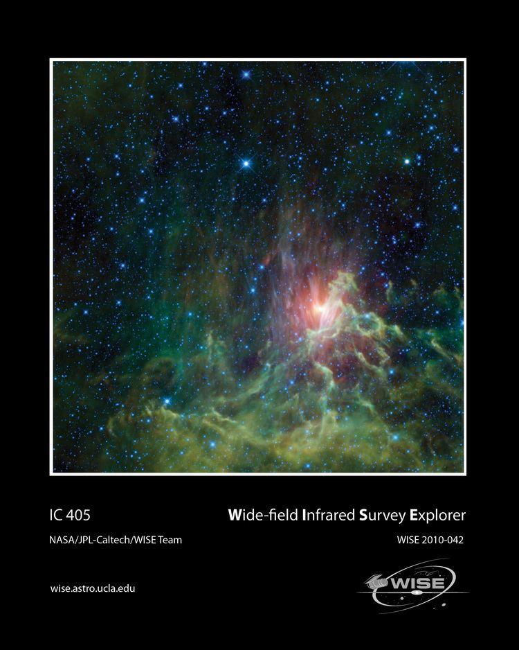 AE Aurigae WISE Multimedia Gallery IC 405
