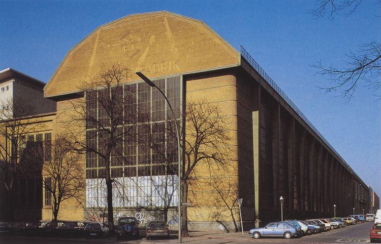 AEG turbine factory Peter Behrens AEG Turbine Factory Berlin Germany 19081909