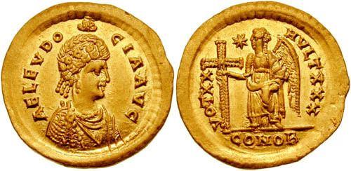 Aelia Eudocia Roman Women on Coins
