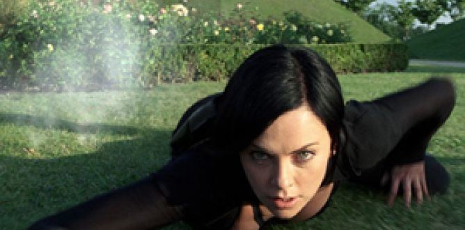 AEon Flux (film) movie scenes Aeon Flux
