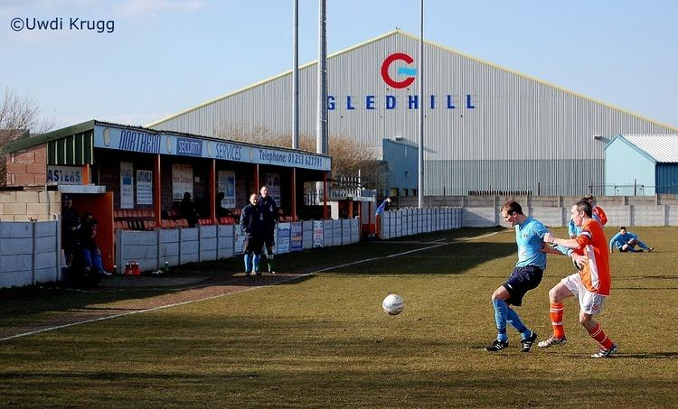 A.F.C. Blackpool Where39s the Tea Hut AFC Blackpool 1 Runcorn Town 1
