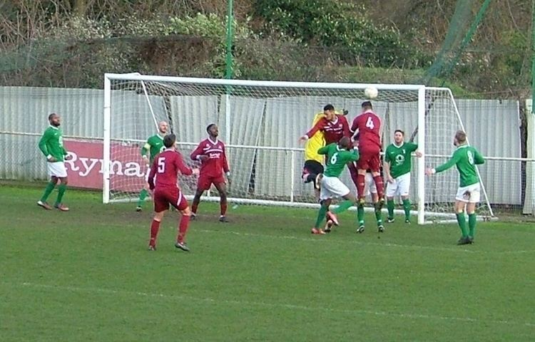 AFC Croydon Athletic AFC Croydon Athletic 3 vs 4 Cray Valley PM 30 January 2016 AFC