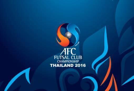 AFC Futsal Club Championship Teams learn AFC Futsal Club Championship Thailand 2016 opponents