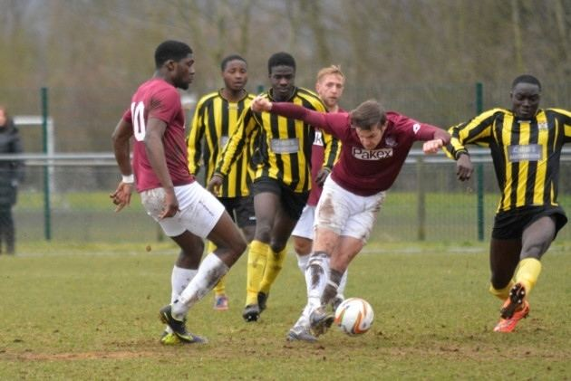 A.F.C. Hayes Seven second half goals as Potters Bar beat AFC Hayes Football
