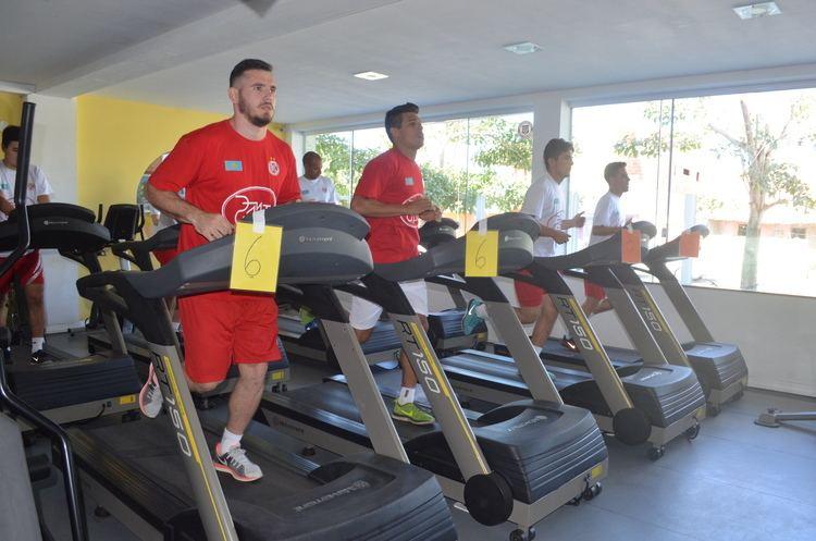AFC Kairat Campeo mundial de futsal AFC Kairat chega a Cabo Frio para pr