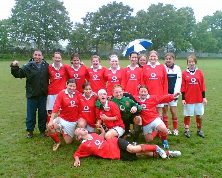 A.F.C. Newbury AFC Newbury Girls Under 14 Football