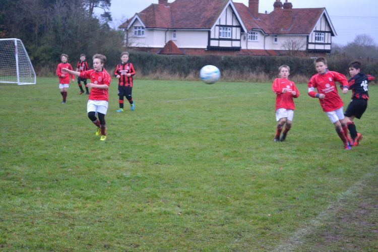 A.F.C. Newbury Andover Youth Under 11s Fail to Stop the Might of Second Placed
