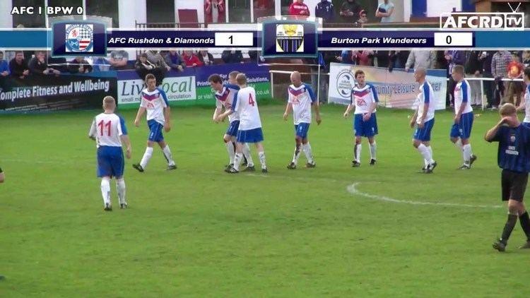 AFC Rushden & Diamonds AFC Rushden amp Diamonds v Burton Park Wanderers Highlights YouTube