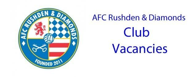 AFC Rushden & Diamonds Official Home of AFC Rushden and Diamonds One Fan One Vote One