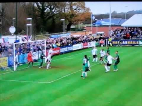 A.F.C. Totton AFC Totton V Bristol Rovers Byron Anthony Goal 04 YouTube