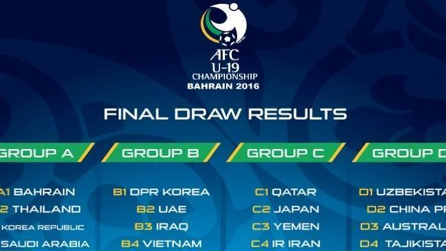 AFC U-19 Championship PressTVIran drawn in AFC U19 games Group C