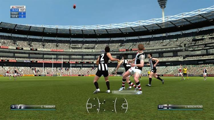 AFL Live AFL Live Xbox 360 Games MMGN Australia