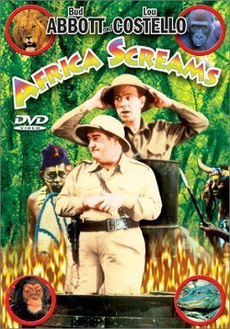 Africa Screams Amazoncom Africa Screams Bud Abbott Lou Costello Clyde Beatty