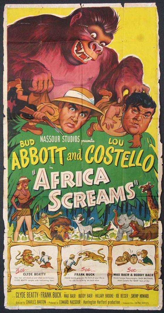 Africa Screams AFRICA SCREAMS A Look Back at 1949 We Are Movie Geeks