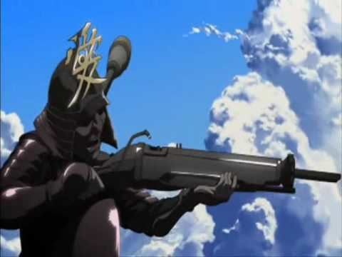 Afro Samurai: Resurrection movie scenes Afro Samurai Resurrection Opening song and a bloody fight