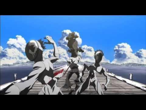 Afro Samurai: Resurrection movie scenes Afro Samurai Resurrection Bridge Scene
