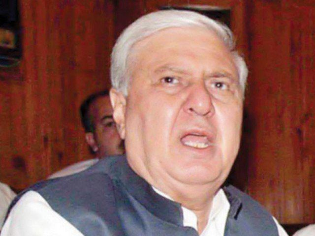 Aftab Ahmad Sherpao Collective decisions Sherpao asks governor to convene APC