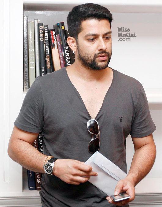 Aftab Shivdasani Spotted Aftab Shivdasani With Girlfriend Nin Dusanj in