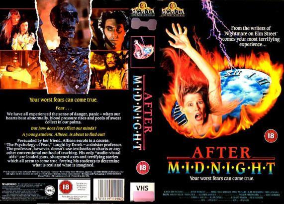 After Midnight (1989 film) After Midnight USA 1989 HORRORPEDIA