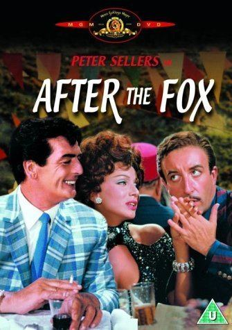 After the Fox After the Fox DVD 1966 Amazoncouk Peter Sellers Victor
