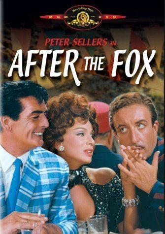 After the Fox Amazoncom After the Fox Peter Sellers Victor Mature Britt