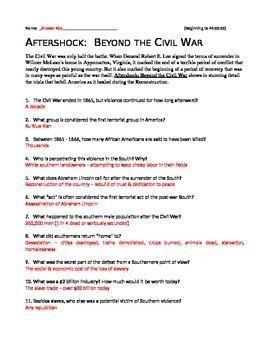 Aftershock: Beyond the Civil War httpsecdnteacherspayteacherscomthumbitemAft
