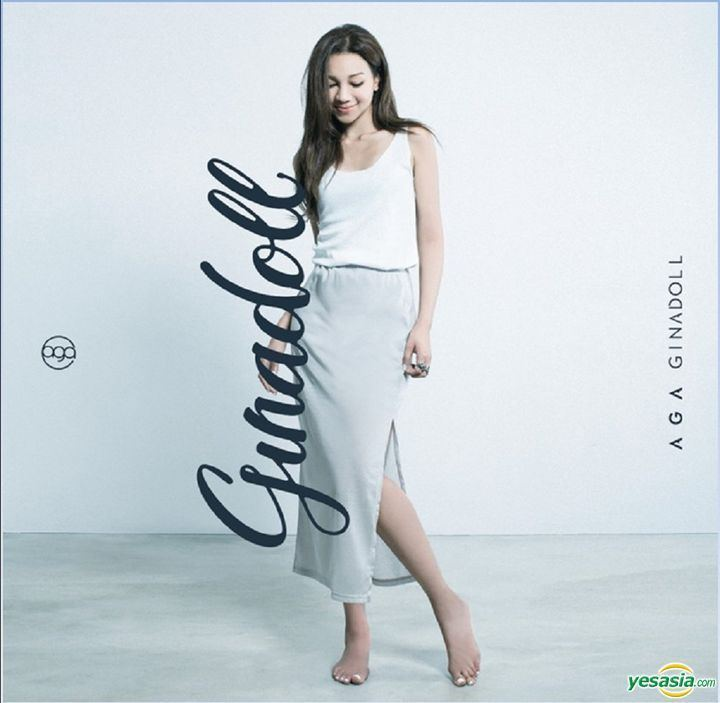 AGA (singer) YESASIA Ginadoll 2nd Edition CD AGA Universal Music Hong Kong