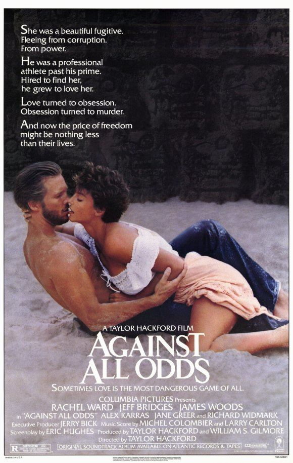 Against All Odds (1984 film) Sex Car chases Murder The 80s And Rachel Ward movies