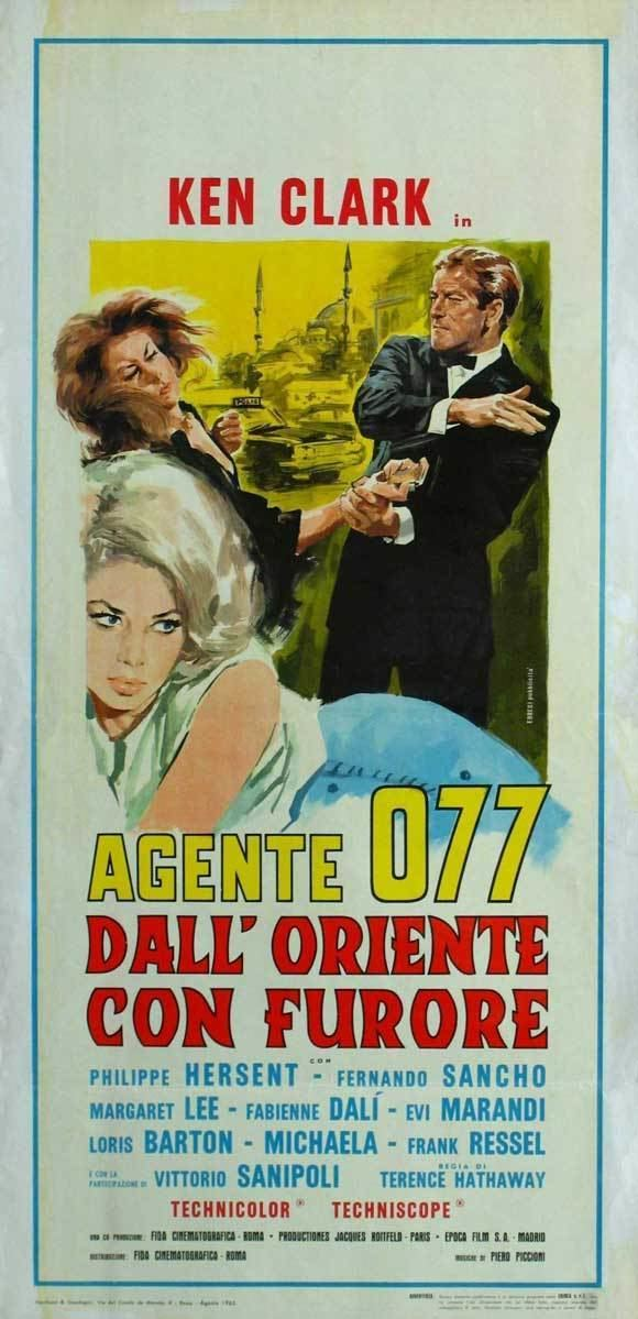 Agent 077: From the Orient with Fury Agent 077 Fury in the Orient Movie Posters From Movie Poster Shop