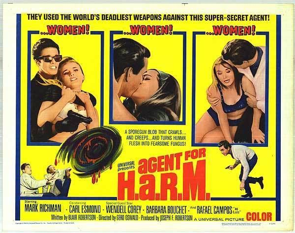 Agent for H.A.R.M. Agent For HARM movie posters at movie poster warehouse