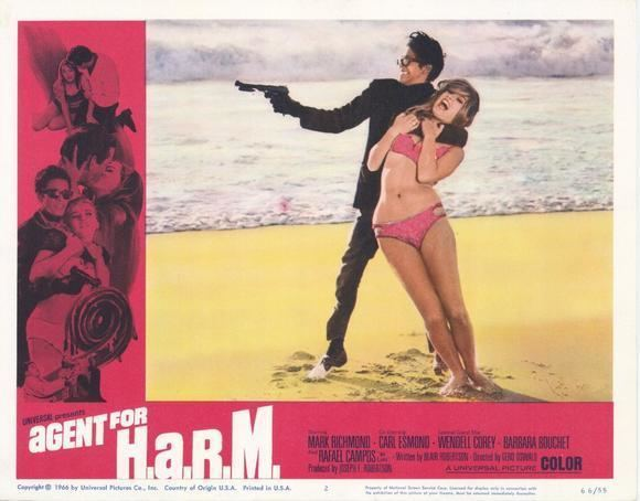 Agent for H.A.R.M. Double O Section Movie Review Agent For HARM 1966