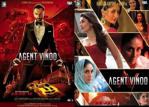 Agent Vinod (2012 film) Banned Bollywood Films that failed to impress the Pakistani Censor