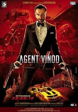 Agent Vinod (2012 film) Agent Vinod 2012 film Wikipedia