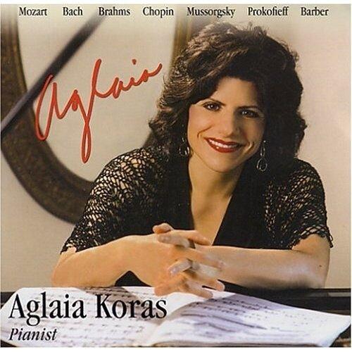 Aglaia Koras Aglaia Koras Piano Short Biography