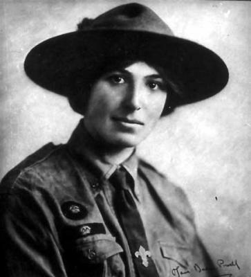 Agnes Baden-Powell Lady Olave Baden Powell y el Guidismo COMUNIDAD GUA