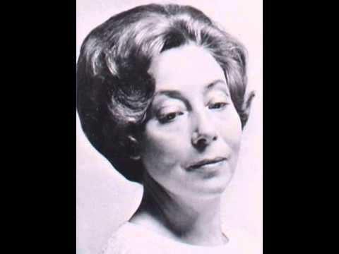 Agnes Giebel Ich freue mich auf meinen Tod Agnes Giebel soprano YouTube
