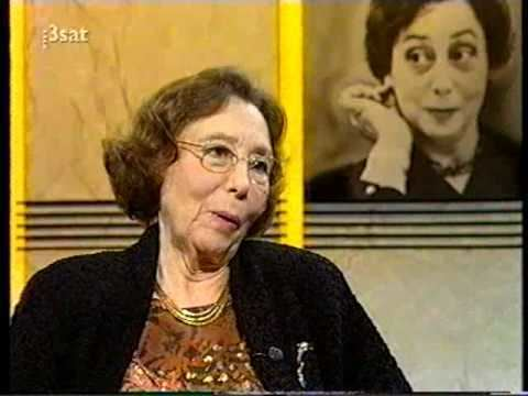 Agnes Giebel Agnes Giebel Da Capo Interview with August Everding 1992 YouTube