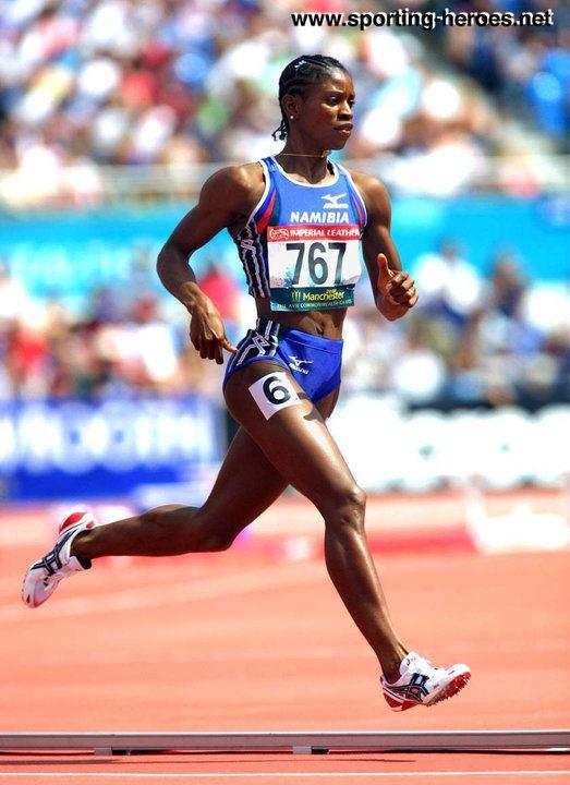 Agnes Samaria Agnes SAMARIA 800m bronze at 2002 Commonwealth Games Namibia