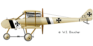 AGO C.I German Aviation TwoSeaters 1915
