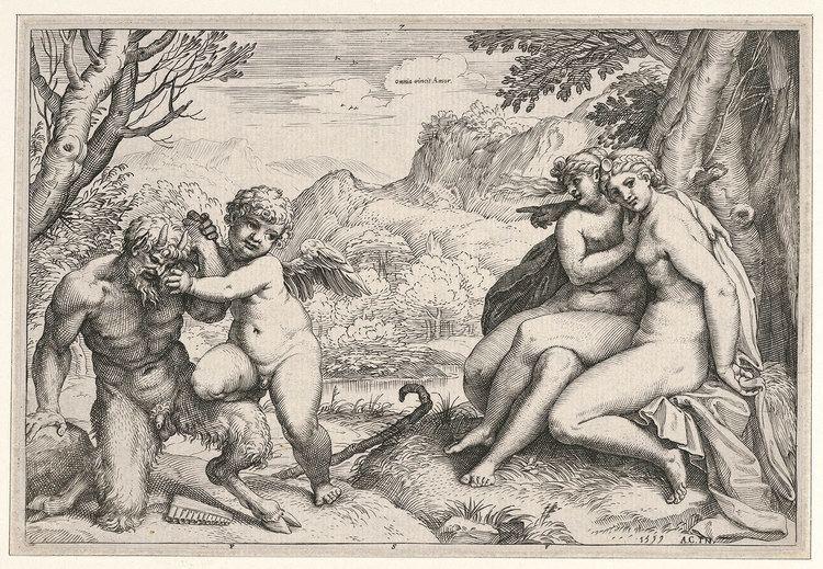 Agostino Carracci Agostino Carracci Omnia vincit Amor 1731853