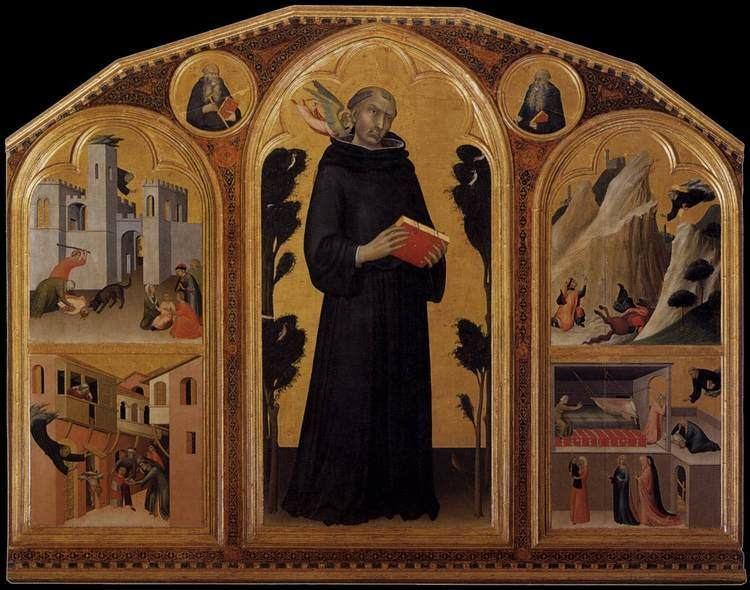 Agostino Novello FileSimone Martini Blessed Agostino Novello Altarpiece WGA21422