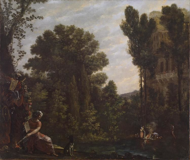 Agostino Tassi FileAgostino Tassi Landscape with a Scene of Witchcraft