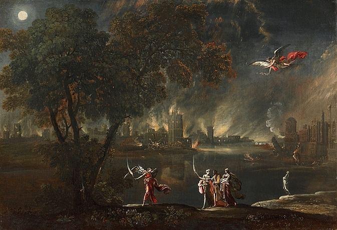 Agostino Tassi Paysages et nocturnes d39Agostino Tassi TEFAF Maastricht