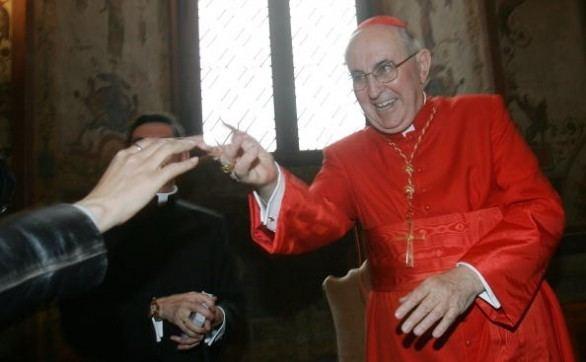 Agostino Vallini Cardinal Agostino Vallini Vicario Generale papa Francesco