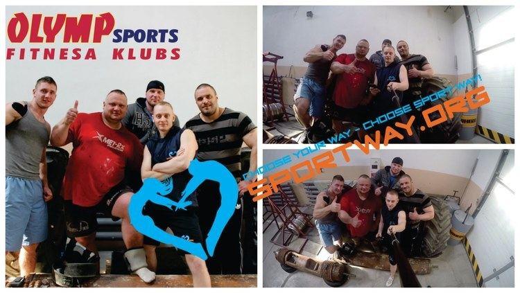 Agris Kazeļņiks Sportway Agris Kazeiks Strong Man Ciemos pie spka vriem