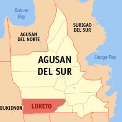 Loreto Agusan del Sur Wikipedia